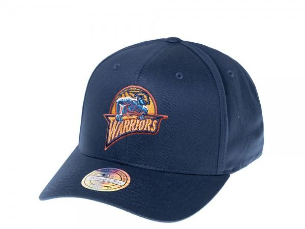 Mitchell & Ness Golden State Warriors Deep 110 Flexfit Snapback Cap