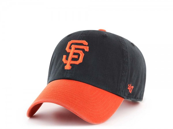 47Brand San Francisco Giants Clean Up Two Tone Strapback Cap