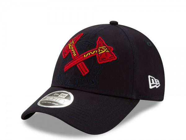 New Era Atlanta Braves Elements Edition 9Forty Stretch Snapback Cap