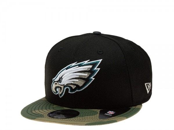 New Era Philadelphia Eagles Camo Edition 9Fifty Snapback Cap