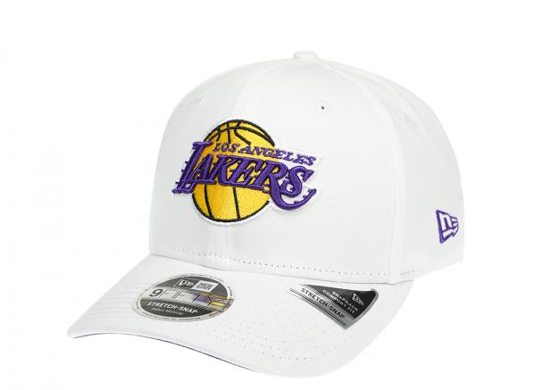 New Era Los Angeles Lakers Fresh White 9Fifty Cap
