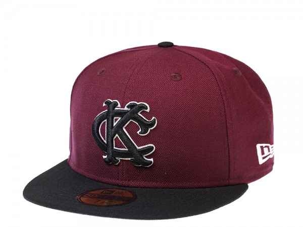 New Era Kansas City Royals Maroon KC Edition 59Fifty Fitted Cap