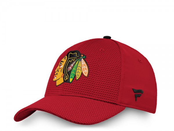 Fanatics Chicago Blackhawks Authentic Pro Stretch Fit Cap