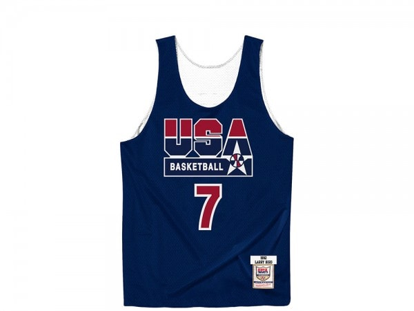 Mitchell & Ness Dream Team - Larry Bird Authentic Reversible Practice Jersey