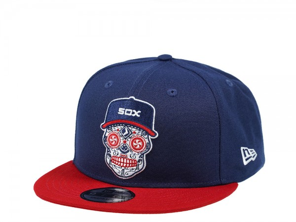 New Era Chicago White Sox Skull Edition Two Tone 9Fifty Snapback Cap