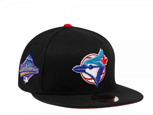New Era Toronto Blue Jays World Series 1993 Black and Red Edition 59Fifty Fitted Cap
