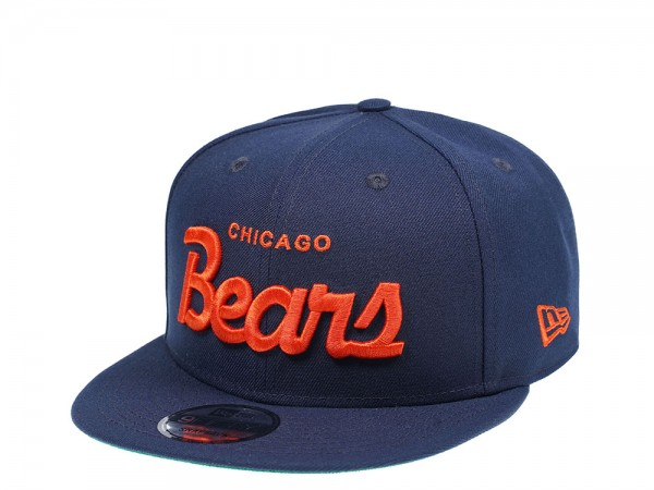 New Era Chicago Bears Script Edition 9Fifty Snapback Cap
