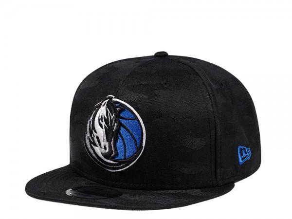 New Era Dallas Mavericks Midnight Camo Edition 9Fifty Snapback Cap