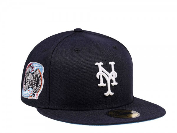 New Era New York Mets Subway Series Glacier Blue Edition 59Fifty Fitted Cap