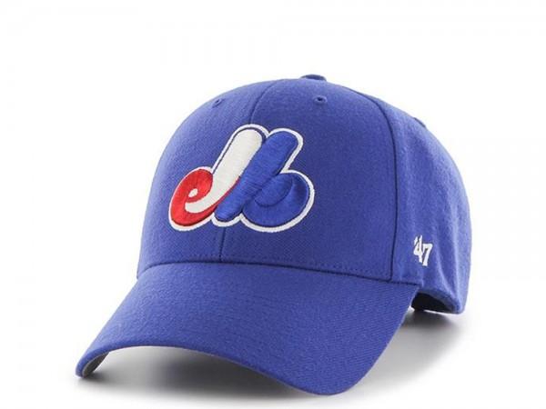 47brand Montreal Expos MVP Strapback Cap