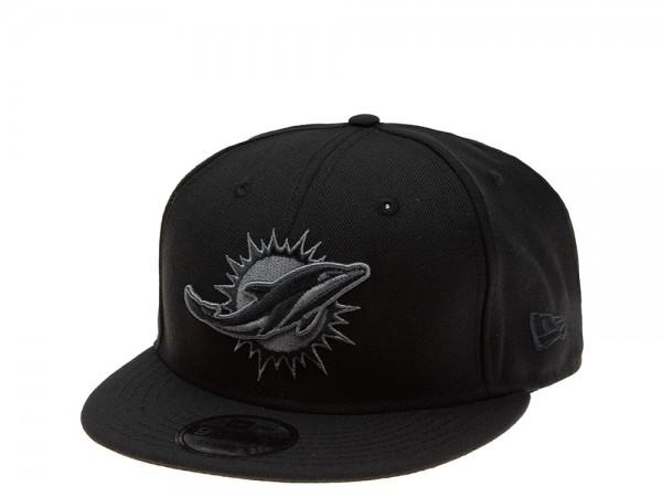 New Era Miami Dolphins Dark Gray Edition 9Fifty Snapback Cap