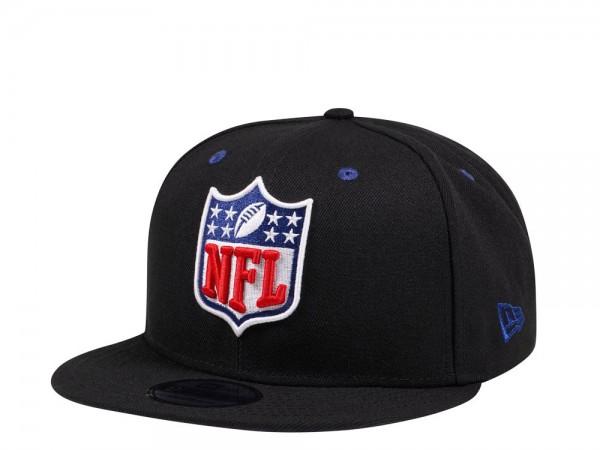 New Era NFL Logo Shield Black and Blue Edition 9Fifty Snapback Cap