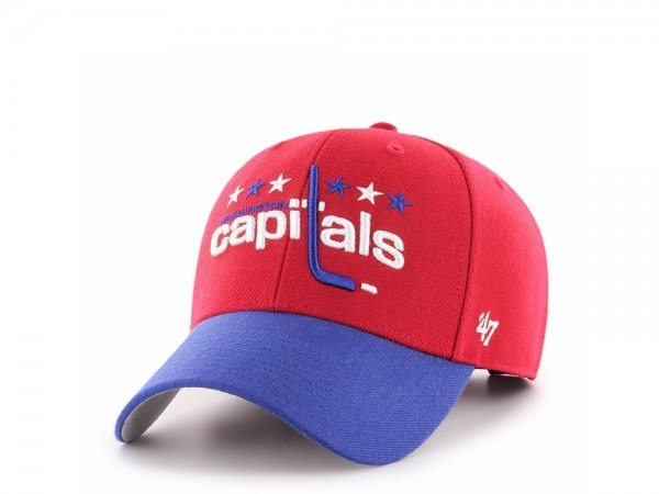 47Brand Washington Capitals Vintage MVP Strapback Cap