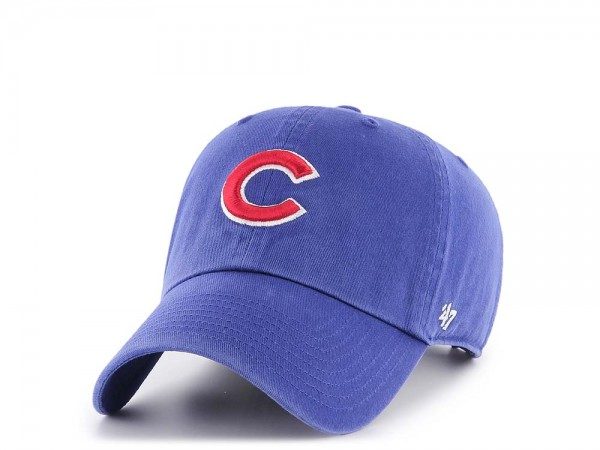 47Brand Chicago Cubs Clean Up Strapback Cap