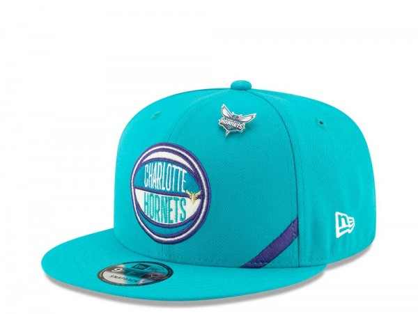 New Era Charlotte Hornets Draft 19 9Fifty Snapback Cap