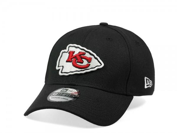 New Era Kansas City Chiefs Classic Black Edition 39Thirty Stretch Cap