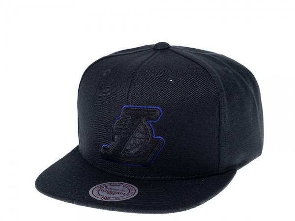 Mitchell & Ness Los Angeles Lakers Purple Frame Snapback Cap