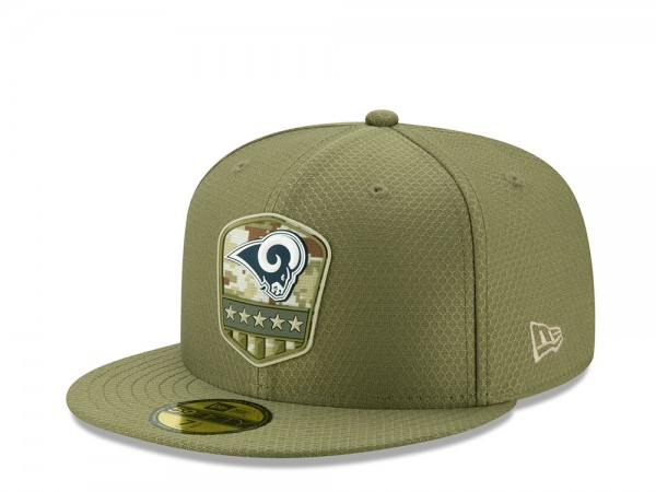New Era Los Angeles Rams Salute to Service 2019 59Fifty Fitted Cap