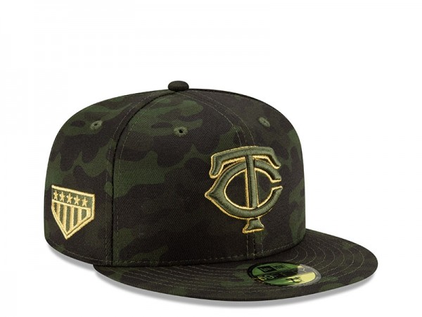 New Era Minnesota Twins Armed Forces Day On Field Fitted 59Fifty Cap
