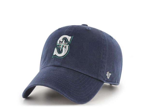 47Brand Seattle Mariners Clean Up Strapback Cap