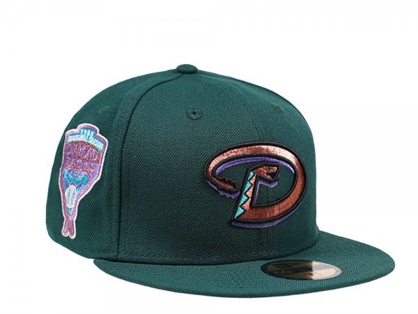 New Era Arizona Diamondbacks Inaugural Season 1998 Green and Pink Edition 59Fifty Fitted Cap