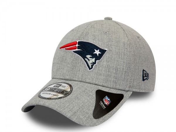 New Era New England Patriots Heather 39Thirty Stretch Fit Cap