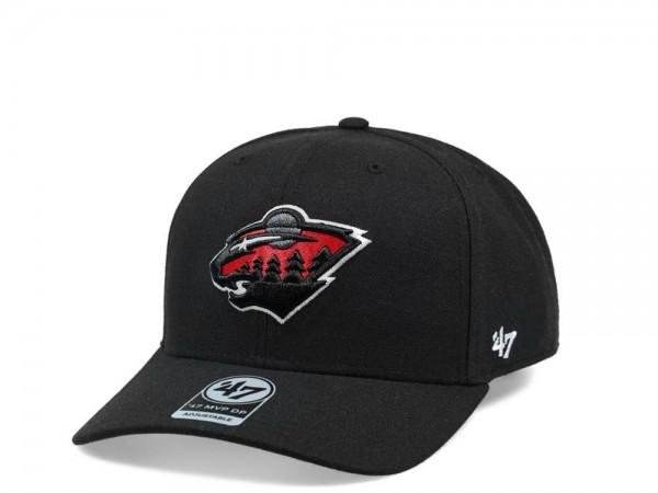 47brand Minnesota Wild Color Detail MVP DP Snapback Cap