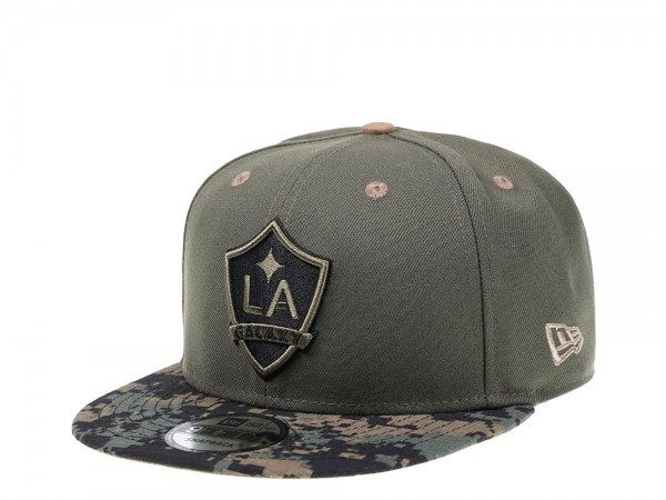 New Era LA Galaxy Digital Camo Edition 9Fifty Snapback Cap