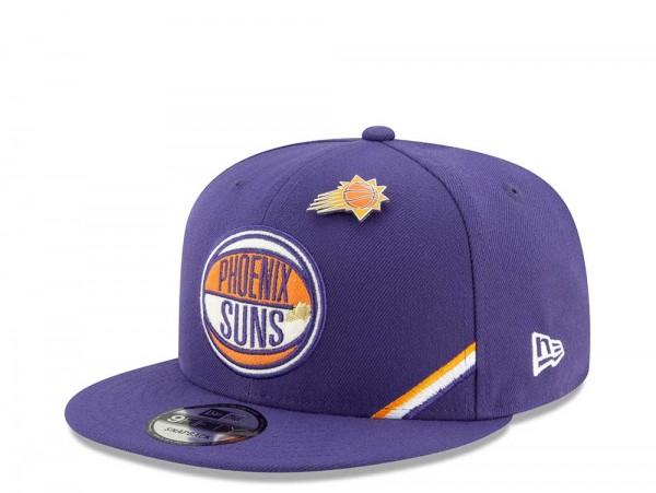 New Era Phoenix Suns Draft 19 9Fifty Snapback Cap