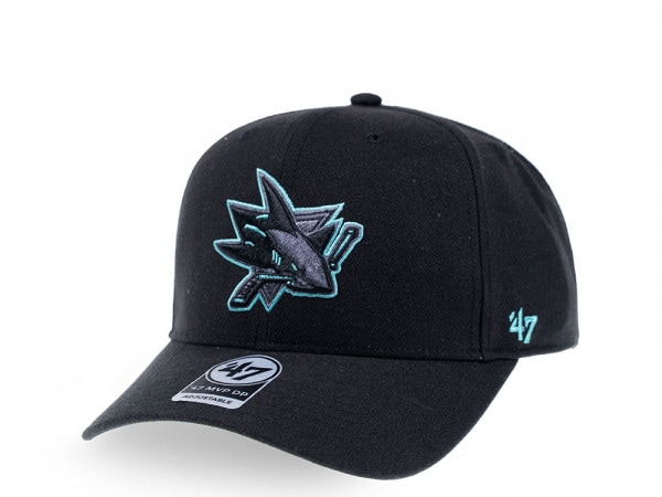 47brand San Jose Sharks Color Detail MVP DP Snapback Cap