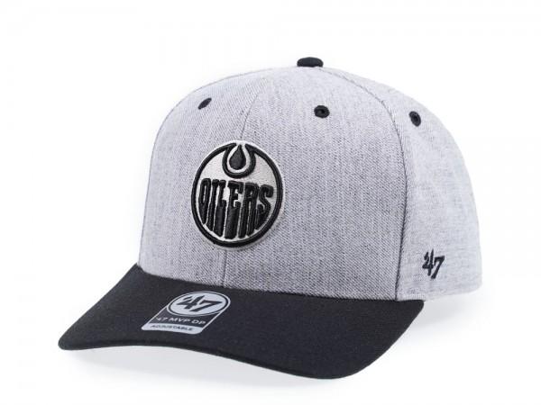 47Brand Edmonton Oilers Storm Cloud MVP DP Snapback Cap