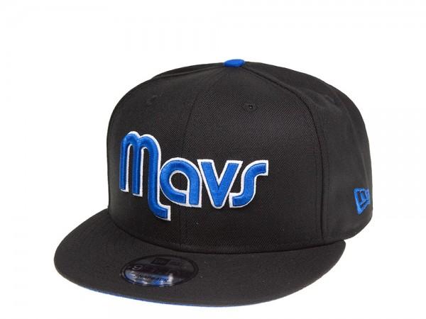 New Era Dallas Mavericks Mavs Script 9Fifty Snapback Cap