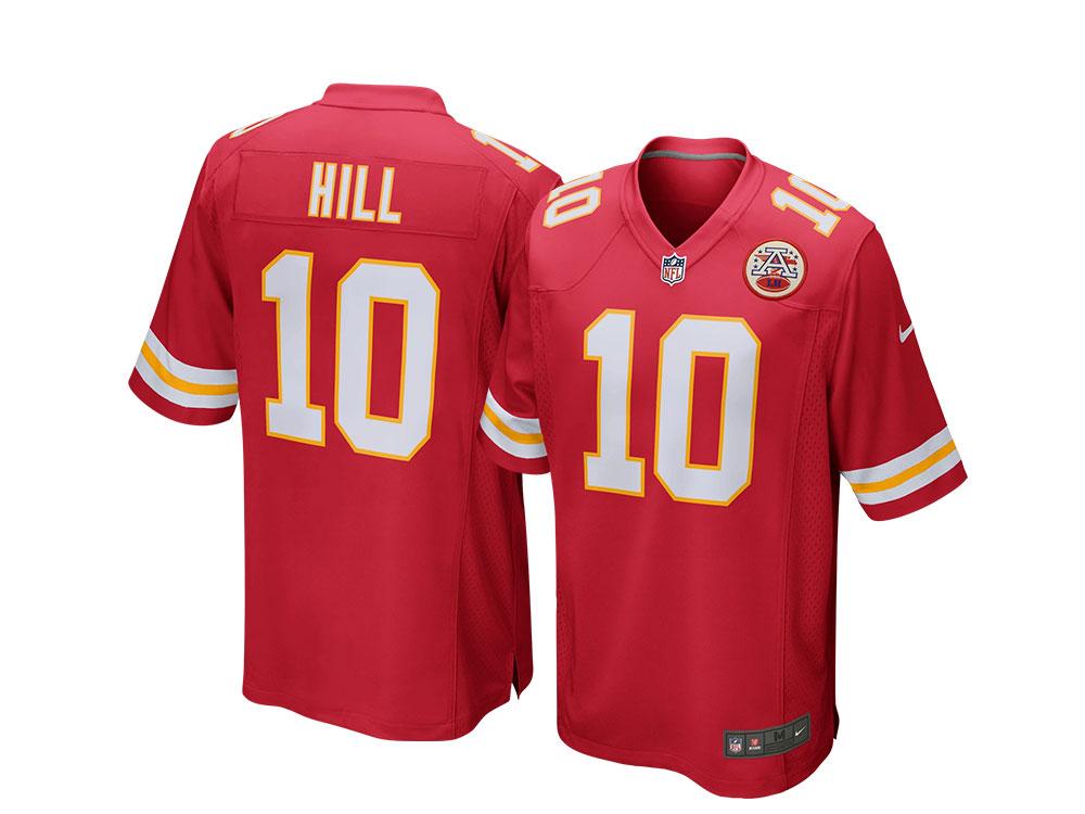 Nike Kansas City Chiefs Tyreek Hill Home Game NFL Jersey