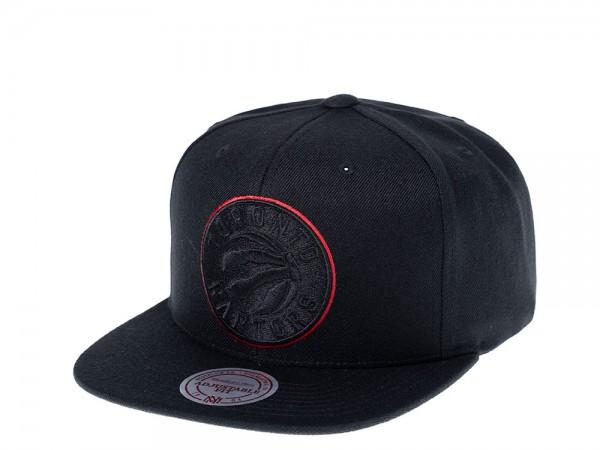 Mitchell & Ness Toronto Raptors Red Frame Snapback Cap