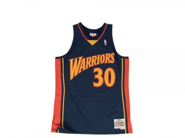 Mitchell & Ness Golden State Warriors - Stephen Curry Swingman 2009-10 Jersey