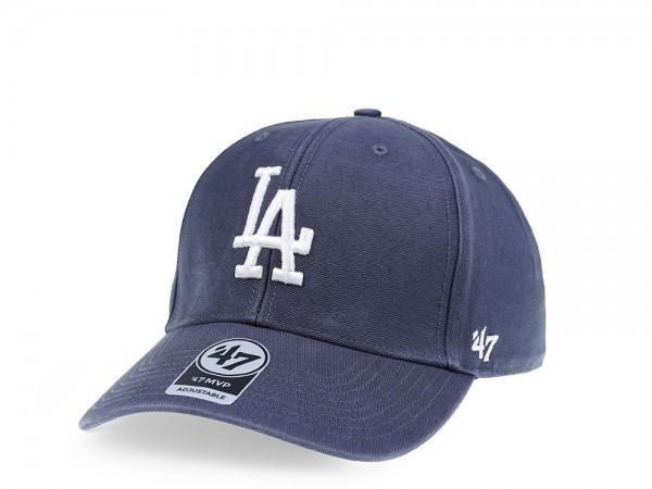 47Brand Los Angeles Dodgers Vintage Ballpark Edition MVP Strapback Cap
