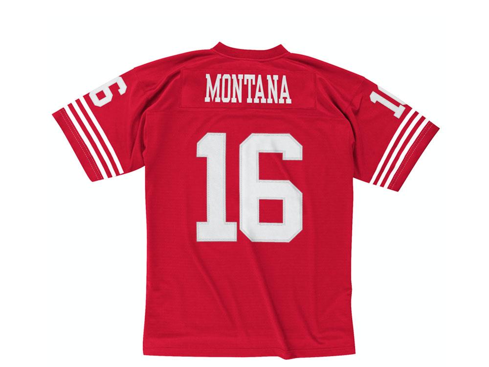 Mitchell & Ness San Francisco 49ers Trikot - Joe Montana NFL Legacy Replica Jersey-S
