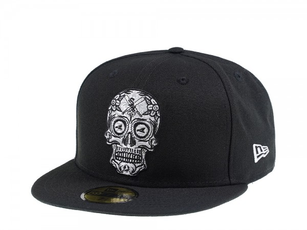 New Era Chicago White Sox Skull Edition 59Fifty Fitted Cap