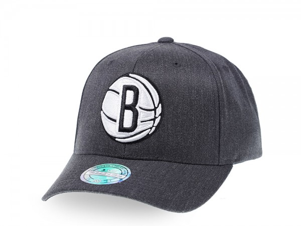 Mitchell & Ness Brooklyn Nets Heather Pop Edition 110 Flex Snapback Cap