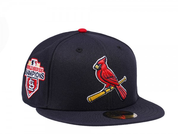 New Era St. Louis Cardinals World Series Champions 2011 Navy Edition 59Fifty Fitted Cap