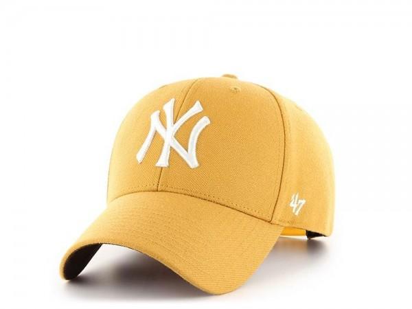 47Brand New York Yankees Wheat MVP Snapback Cap