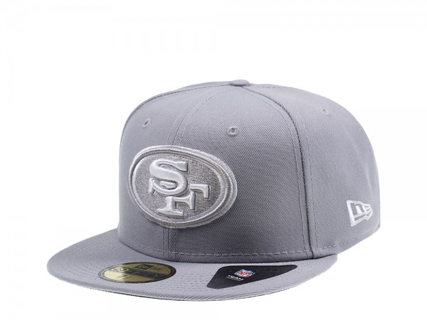 New Era San Francisco 49ers All About Grey Edition 59Fifty Fitted Cap