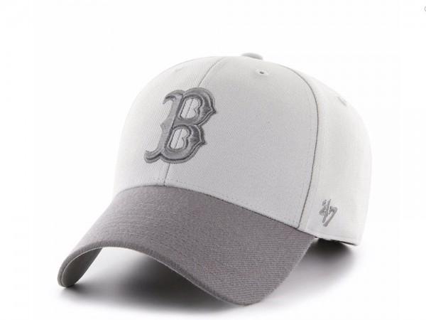 47Brand Boston Red Sox Steel Grey MVP Snapback Cap