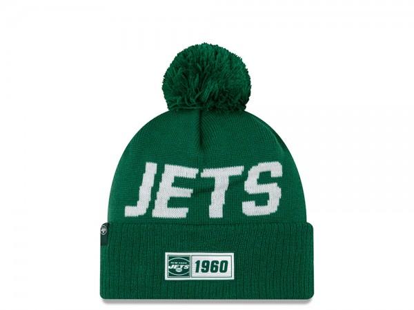 New Era New York Jets Sideline 2019 Road Mütze