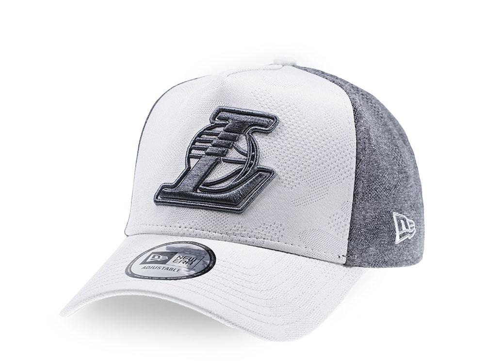 New Era 9FORTY Cap Hook Los Angeles Lakers schwarz