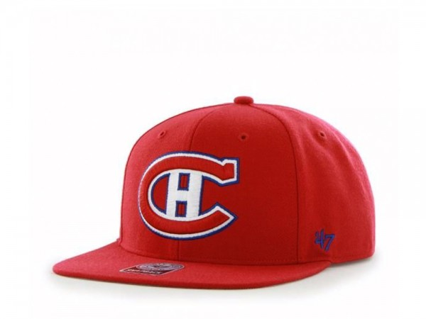 47brand Montreal Canadiens Sure Shot Captain Snapback Cap