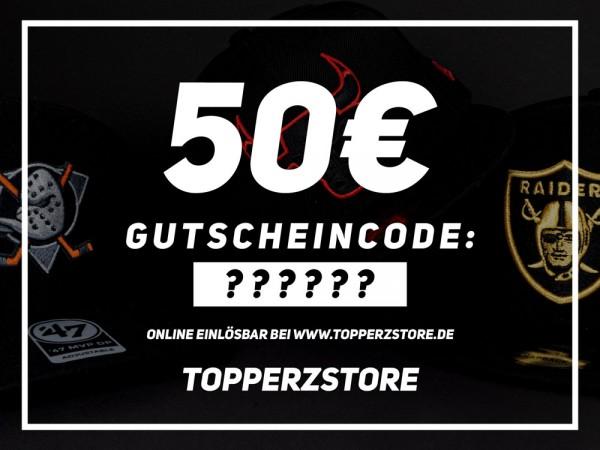 Topperz Gutschein 50 EURO