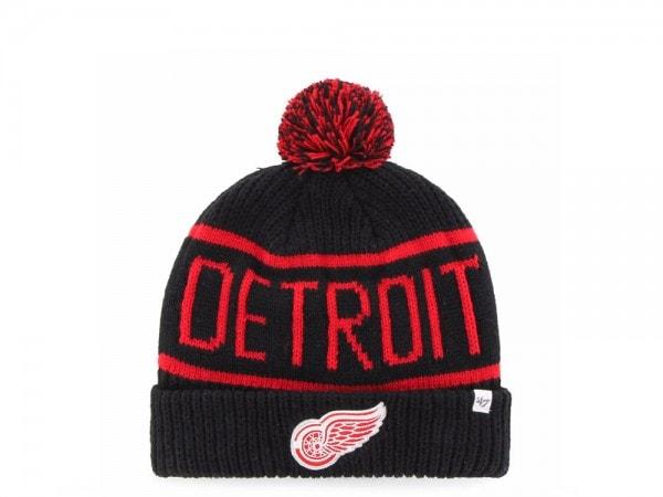 47 Brand Detroit Red Wings Calgary Cuff Mütze