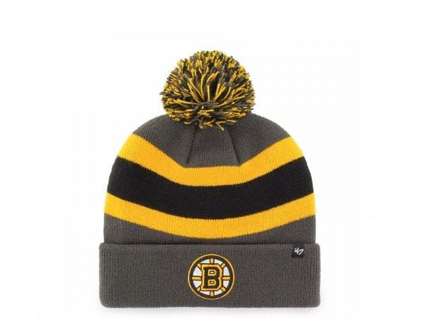 47 Brand Boston Bruins Breakaway Cuff Mütze