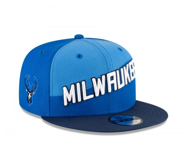New Era Milwaukee Bucks City Series 20 9Fifty Snapback Cap